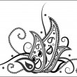 Paisley seamless - Stock Vector