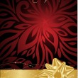 Xmas red celebrate background — Stock Vector