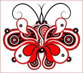 Elegance butterfly — Stock Vector