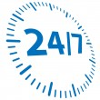 24h opened - 