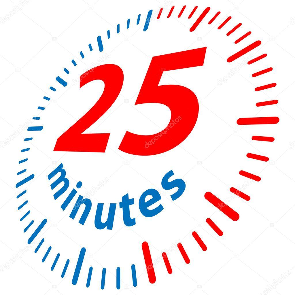 25 Minutes Stock Vector 169 Yuriy Vlasenko 4895320