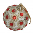 Christmas ball toy isolated on the background — Stock Photo #4083252