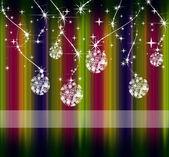 Beautiful background Christmas (New Year) card . — Stock Photo