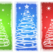 Beautiful background Christmas (New Year) card . — Photo
