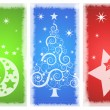 Beautiful background Christmas (New Year) card . — Foto Stock