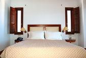 Apartment in the luxury hotel, Crete, Greece — Stock Photo