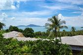 Green environment of modern luxury hotel, Phuket, Thailand — Stock Photo