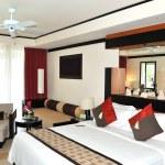 Villa interior at the modern luxury hotel, Phuket, Thailand — Stock Photo #4233215