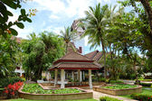 Recreatiegebied van luxehotel, phuket, thailand — Stockfoto