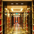 The hallway at modern luxury hotel, Pattaya, Thailand — Stock Photo