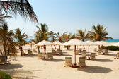 ビーチの高級ホテルで、ドバイ、アラブ首長国連邦 — ストック写真