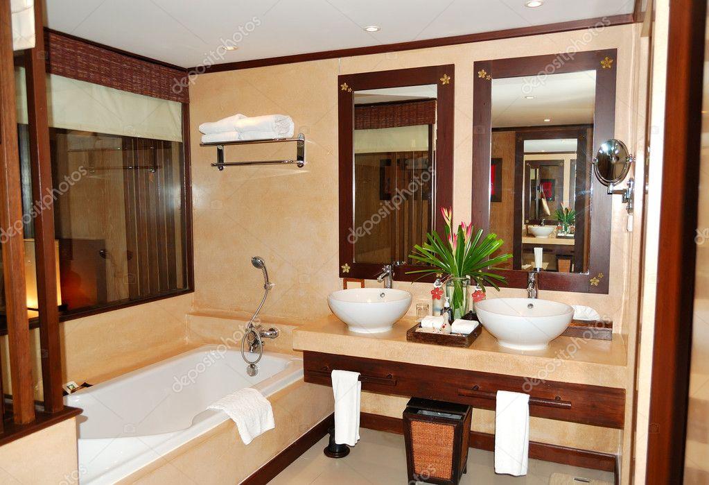 salle de bain la villa de luxe moderne lle de samui thalande image - Salle De Bain Moderne De Luxe