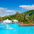 Stock Photo: Waterpark at luxury hotel, Antalya, Turkey