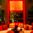 Стоковое фото: Modern lobby interior in night illumination, Pattaya, Thailand