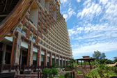 Hôtels de luxe au bord de la mer, pattaya, thaïlande — Photo