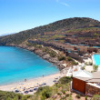 Stock Photo: Recreation areand beach of luxury hotel, Crete, Greece