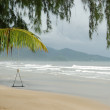 Stormy weather at the resort, Koh Chang island, Thailand - Stock Photo