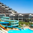 Waterpark at the luxury hotel, Antalya, Turkey, — Stock Photo