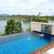 Swimming pool at luxury hotel, Phuket, Thailand — Stock Photo #5364390
