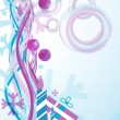Christmas abstract _1 - Imagen vectorial