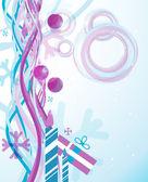 Christmas abstract _1 — Stock Vector