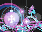 Christmas abstract _6 — Stock Vector