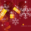 Royalty-Free Stock Vectorielle: Christmas abstract