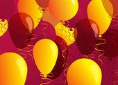 Festliga ballonger — Stockvektor