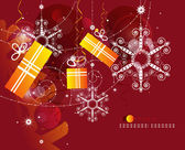 Рождественское резюме — Cтоковый вектор