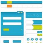 ������, ������: Interface Blue