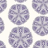 Retro background, lace seamless pattern — Stock Vector