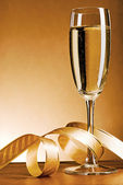 Champagne glass — Stock Photo