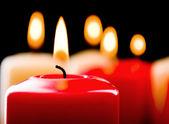 特写蜡烛 — 图库照片