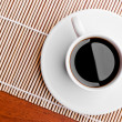 Coffee cup on a table — Stock Photo