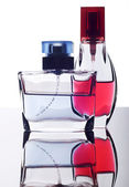 Two bottles of perfume — Stock Photo