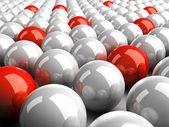 3D balls — Stock Photo