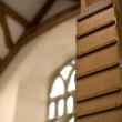 Stock Photo: Church hymn board