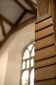 Church hymn board — Stock Photo