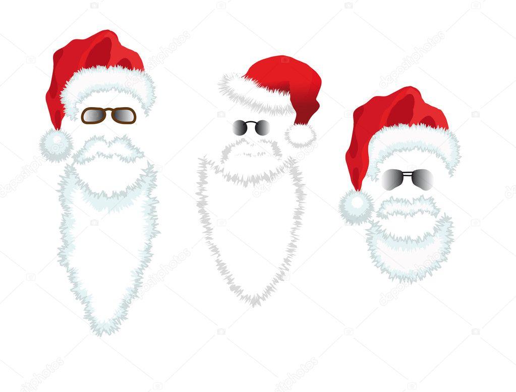 Santa beard stock photo Image of background culture