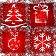 Royalty-Free Stock Vectorielle: Grunge Christmas
