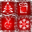 Royalty-Free Stock Imagen vectorial: Grunge Christmas