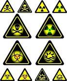 Signs of danger — Stock Vector