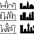 City evolution — Stock Vector #4444846