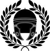 Roman helmet — Stock Vector