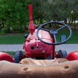 Stock Photo: Old tractor first half of XX century