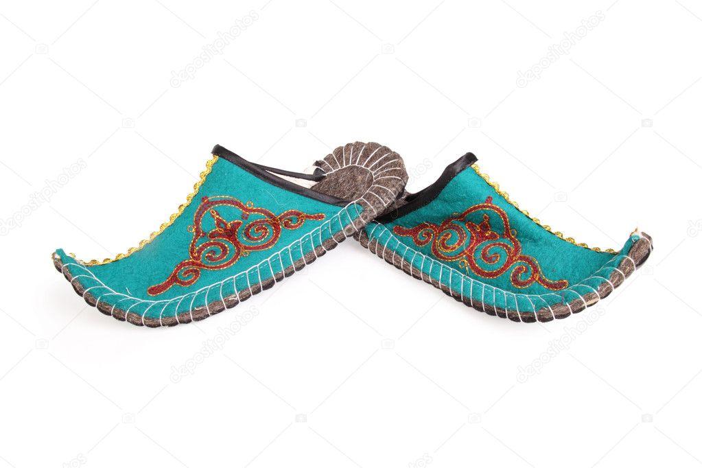 Восточная обувь с загнутыми носами своими руками