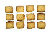 Cookies isolated on the white background — Stockfoto