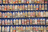 Rows of magnet souvenirs — Stock Photo