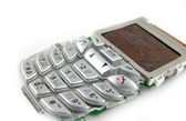Old mobile telephone — Stock Photo