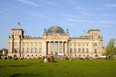 Rest nearly Reichstag — Stock Photo